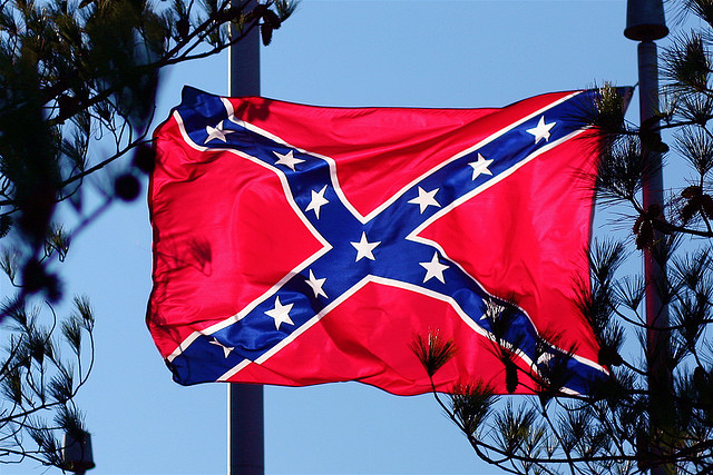 Outrage as Confederate flags placed at MLK's Atlanta church