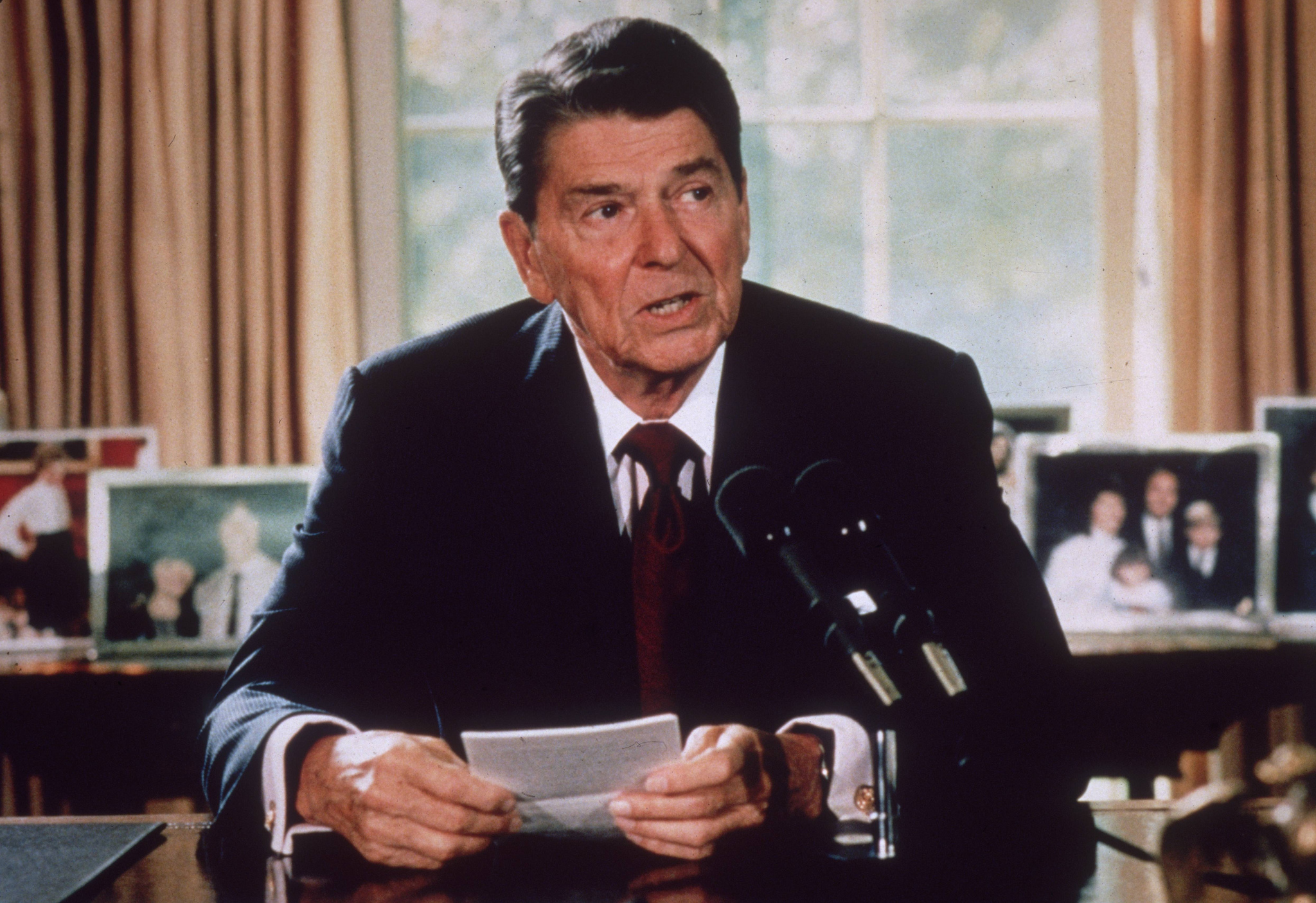 How Ronald Reagan Became the GOP's 'Savior' to Donald Trump's 'Satan'