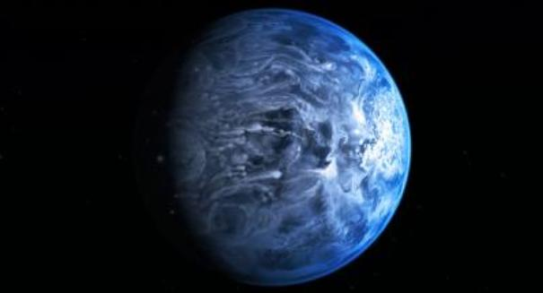 Newly discovered alien 'deep blue' planet rains glass
