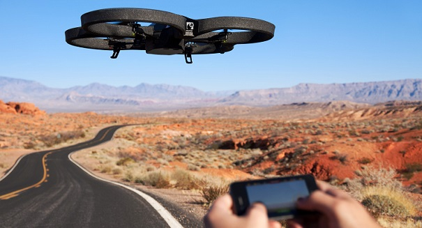 Crowded skies: Near misses between drones and airliners on the rise