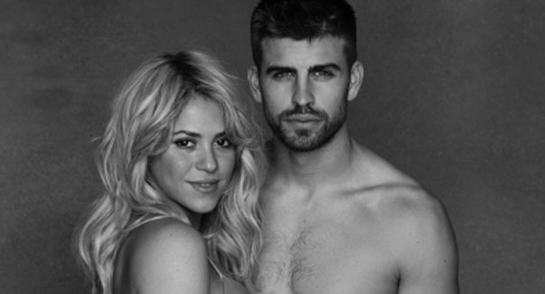 Shakira poses semi-nude in stunning baby bump photo
